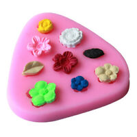 1PC Flowers Shape Silicone mold Fondant Cake Decoration SugarCraft To.ÁÍ