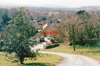PHOTO  GLOUCS 1995 STANTON VIEW W FROM PUB ABOVE VILLAGE TO (L-TO-R) NOTTINGHAM/