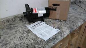 Dayton 4RU76 1/2 HP 3450 RPM 120/240VAC Straight Centrifugal High Head Pump