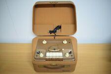 Röhren Tonbandmaschine aus Belgien: ACEC Lugavox T 1160, Für Sammler!!
