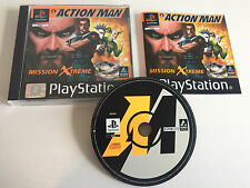 Action Man: Mission Xtreme | pièce de collection comme NEUF + GUIDE | CIB Comme neuf | ps1