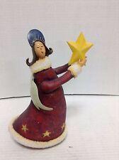 Christmas Angel figurine weighted bottom Centerpiece figurine tabler topper