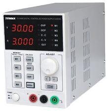 Single Output DC Bench Power Variable Supply PSU 0-30V / 0-3A Digital Control