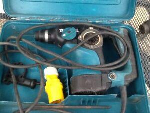 MAKITA 110v 2811F plus Case Spares or Repair