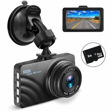 OldShark Dash Cam with 8GB SD Card, 1080P Full HD Car Camera Dashboard Video