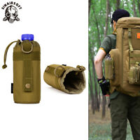 Outdoor Tactical Military Molle System Water Bottle Bag Kettle Pouch Belt Holder