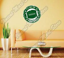 "Football NFL Quarterback Grunge Stamp Wall Sticker Room Interior Decor 22""X22"""