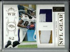 Torrey Smith 2011 National Treasures Game Used Jersey Patch #43/49