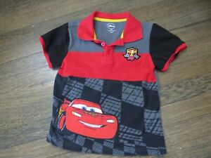 Disney Cars Lightning McQueen polo shirt with collar 5 / 6