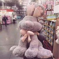 2019 Giant Stuffed Bunny Toy Soft Plush Animals Rabbit Doll Gray 2 Sizes New