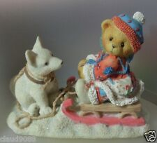 "CHERISHED TEDDIE  ""ERICA""  176028 MINT FIGURINE BOX & PAPERS"