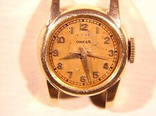 Ladies Omega 17J Watch Movement 252 with case  Runs