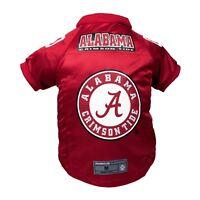 Alabama Crimson Tide NCAA LEP Dog Pet Premium Red Jersey BIG Dog Size