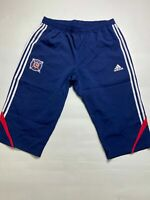 Chicago Fire MLS Soccer Adidas Blue Training Pants Shorts Futbol Mens 2XL