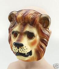 De Plástico Lion Animal Mascarilla fancydress