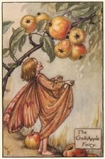 Crab-Apple Fairy by Cicely Mary Barker. Autumn Flower Fairies c1935 old print