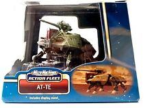 Star Wars Action Fleet Micro Machines AT-TE 2002 Hasbro factory sealed ATTE New