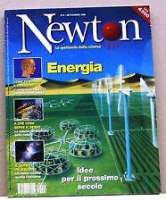 NEWTON OGGI - Energia [N. 9 - settembre 1998]