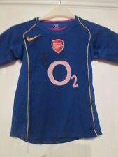 Thierry Henry Arsenal 2004-2005 Signed Away Football Shirt & COA  /43305