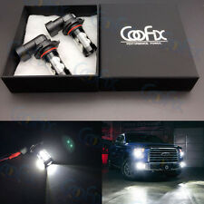 NEW 2x 50W H10 9145 6000K White High Power LED CREE Fog Light Driving Bulb DRL