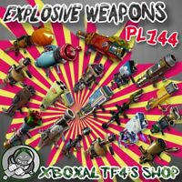 RPG Explosive Weapon PL144 Supercharged -Choose From List-  | Fortnite STW
