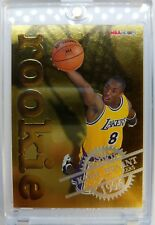 RARE: 1996 96-97 NBA HOOPS KOBE BRYANT RC GOLD FOIL ROOKIE EMBOSSED #3, Insert !