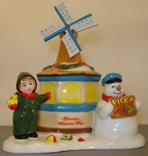 Department 56 Snow Village Windmill Wishing Well accessory