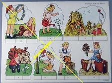 Ausschneidebogen Schreiber: Kinder... um 1935 (13832)