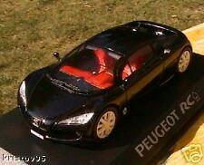PEUGEOT RC PIQUE NOIRE CONCEPT CAR NOREV 1/43 FUTURE