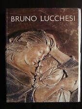 BRUNO LUCCHESI Italian American Sculpture Art Book SIGNED 2003