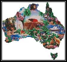 Australiana - Cross Stitch Chart/Pattern/Design/XStitch