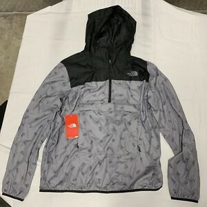 North Face Fanorak Novelty Snakes Pattern/gray Mens Large NWT