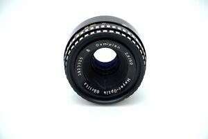 ZEBRA Meyer Optik Gorlitz DOMIPLAN 2.8/50mm Lens M42 Fit Camera