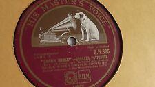 """Marek Weber - 78rpm single 12-inch His Master's Voice #E.H. 396 """"Grafin Mariza"""""""