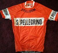 Pellegrino cycle cycling jersey retro vintage NWT small medium