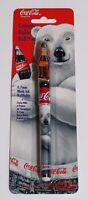 Coca Cola Ceramic Roller Pen Refillable 1997 Pentec Polar Bear Vintage Free Ship