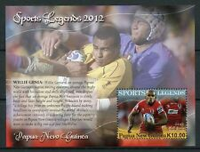 Papua New Guinea 2012 MNH Sports Legends Willie Genia 1v S/S Rugby Union Stamps