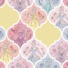 Disney Princess- Jasmine, Cinderella, Aurora, Belle, Princess Patch 100% Cotton