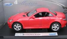 MERCEDES SLK R171  RED   1/18  IN BOX   RARE !!!