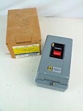 Square D 2510MCG21 Manual Motor Starter 120V 60Hz w/ enclosure MCG-21 2510