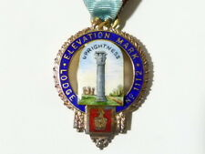 1951  FREEMASON MASONIC Founder Jewel Elevation Mark Lodge 1112 #MJ11