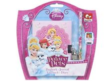Licensed Disney Princess Palace Pets Lockable Diary Journal And Pencil