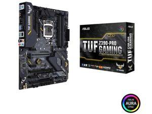 ASUS TUF Z390-Pro Gaming LGA1151 (Intel 8th and 9th Gen) ATX HDMI Motherboard