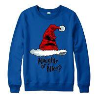 Harry Potter Christmas Jumper, Sorting Hat Harry Festive Adult & Kids Jumper Top