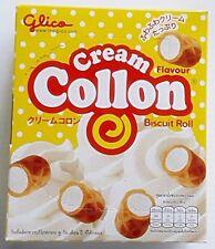 GLICO COLLON CREAM FLAVOUR STUFF SORT FULL CREAM CRACKER CRISPY BISCUIT ROLL 54G