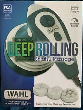 Wahl Deep Rolling Shiatsu Handheld Full Body Massager Model 4291 - New