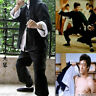 3 Pieces Bruce Lee Wing Chun Kung Fu Suit Costume Martial Arts Outfits Uniform