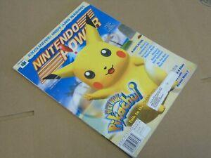 #138 138 Nintendo Power Hey You Pikachu N64 Video Game System NES #12D