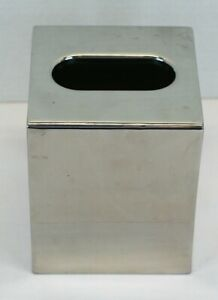 Tissue Box Cover Polished Stainless Steel Focus BS-9 Basic Collection  Pre-Owned