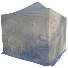 3x3m Alu Profi Faltzelt Marktzelt Marktstand Tent 50mm Hex Alu mit Metallgelenke